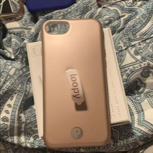 Rose gold loopy case